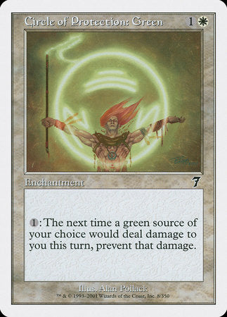 Circle of Protection: Green [Seventh Edition]