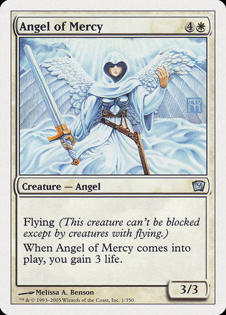 Angel of Mercy [Ninth Edition] | OMG Games ON