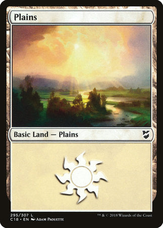 Plains (295) [Commander 2018] | OMG Games ON