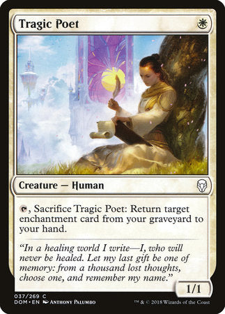 Tragic Poet [Dominaria]