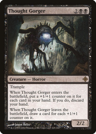 Thought Gorger [Rise of the Eldrazi]