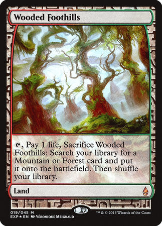 Wooded Foothills [Zendikar Expeditions] | OMG Games ON
