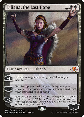 Liliana, the Last Hope SDCC 2016 EXCLUSIVE [San Diego Comic-Con 2016]