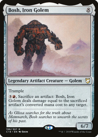 Bosh, Iron Golem [Commander 2018] | OMG Games ON