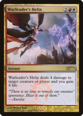 Warleader's Helix [Friday Night Magic 2014] | OMG Games ON