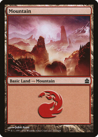 Mountain (311) [Commander 2011]