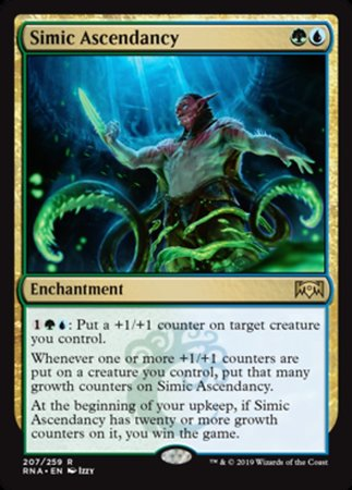 Simic Ascendancy [Ravnica Allegiance]