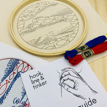 Load image into Gallery viewer, Deep Dive Embroidery Kit