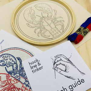 Half Baked Embroidery Kit