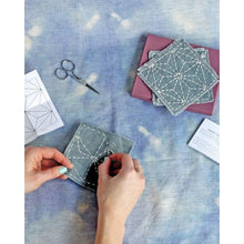 Load image into Gallery viewer, Sashiko Coaster Kit