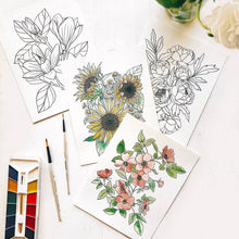 Load image into Gallery viewer, Garden Watercolor Kit