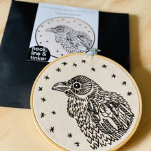 Load image into Gallery viewer, Nevermore Embroidery Kit