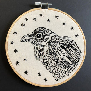 Nevermore Embroidery Kit