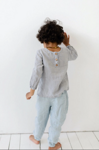Charlie Linen Shirt with Long Sleeves