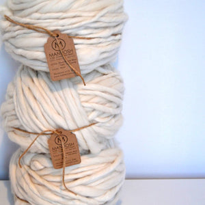 Cloud – Super Chunky Merino Wool Yarn - 50 Yards