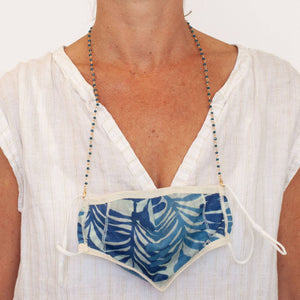 Aegean Gold Chain Face Mask Lanyard Necklace