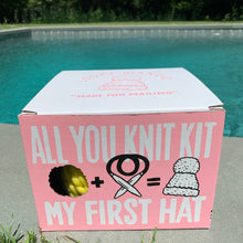 Load image into Gallery viewer, All You Knit Hat Kit