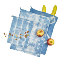 Load image into Gallery viewer, Shibori Produce Bag Trio