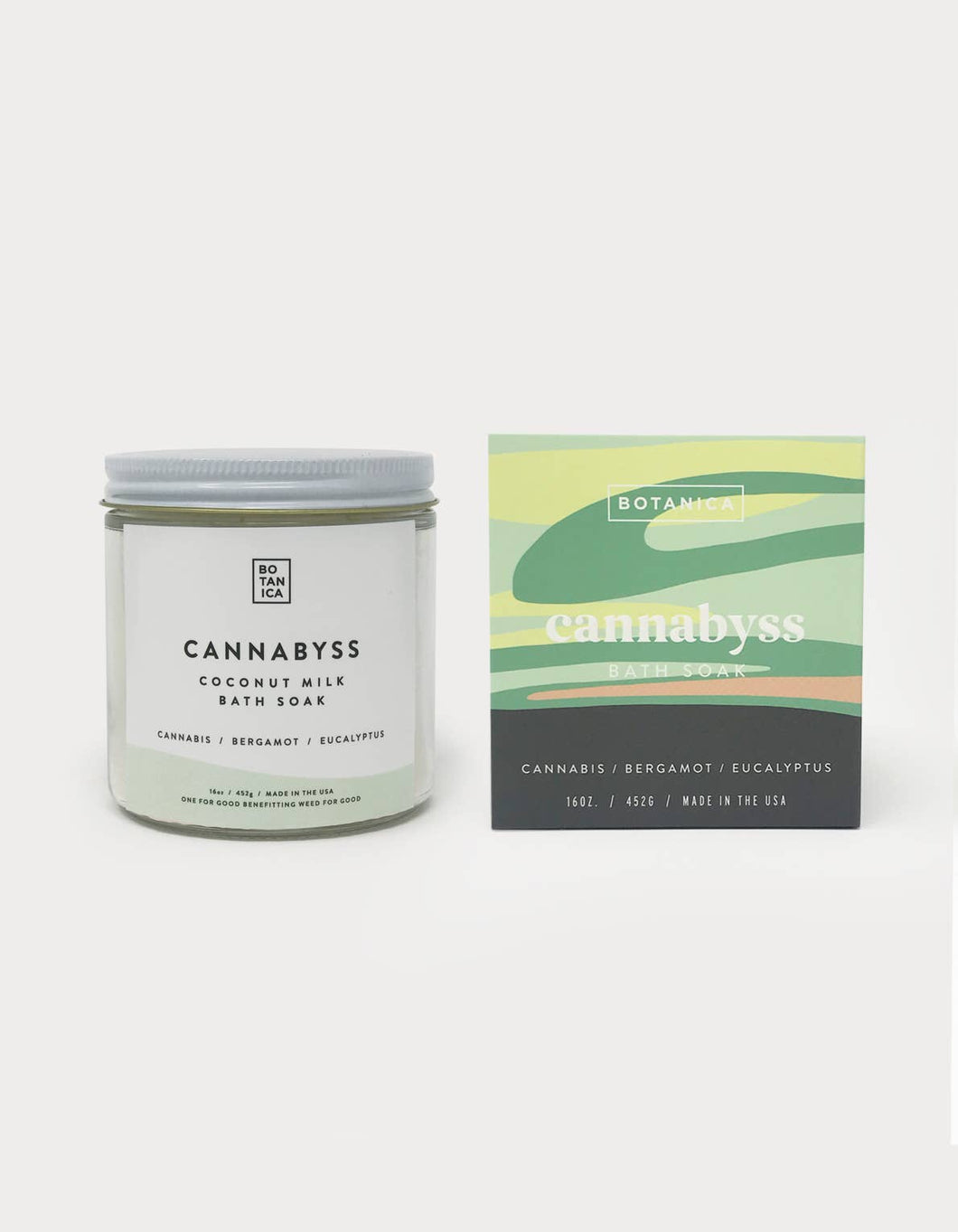 Coconut Bath Soak Cannabyss