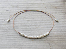 Load image into Gallery viewer, Freshwater Pearl Adjustable Bracelet