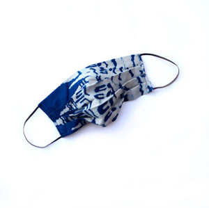 Ichcha Indigo Blue Face Mask