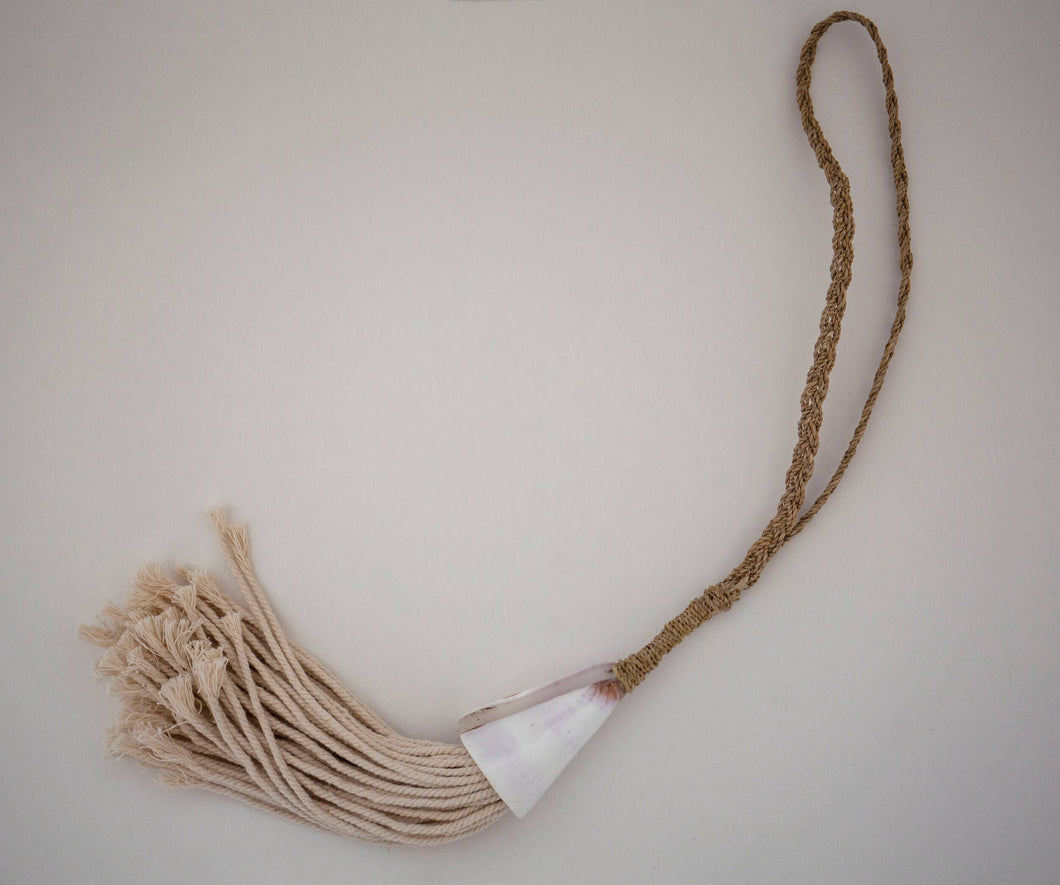 Shell and Rope Tassel