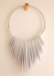 Wood Tribal Neck Piece