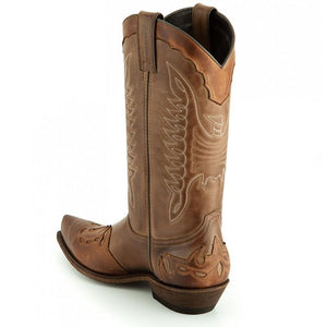 Taube/Ecotan Western Boot - peters-notts