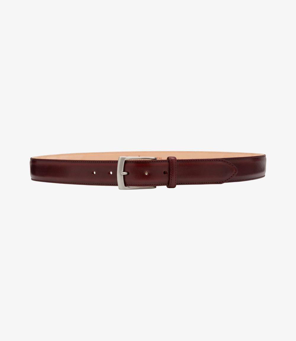 Henry Mens Belt Burgundy - peters-notts