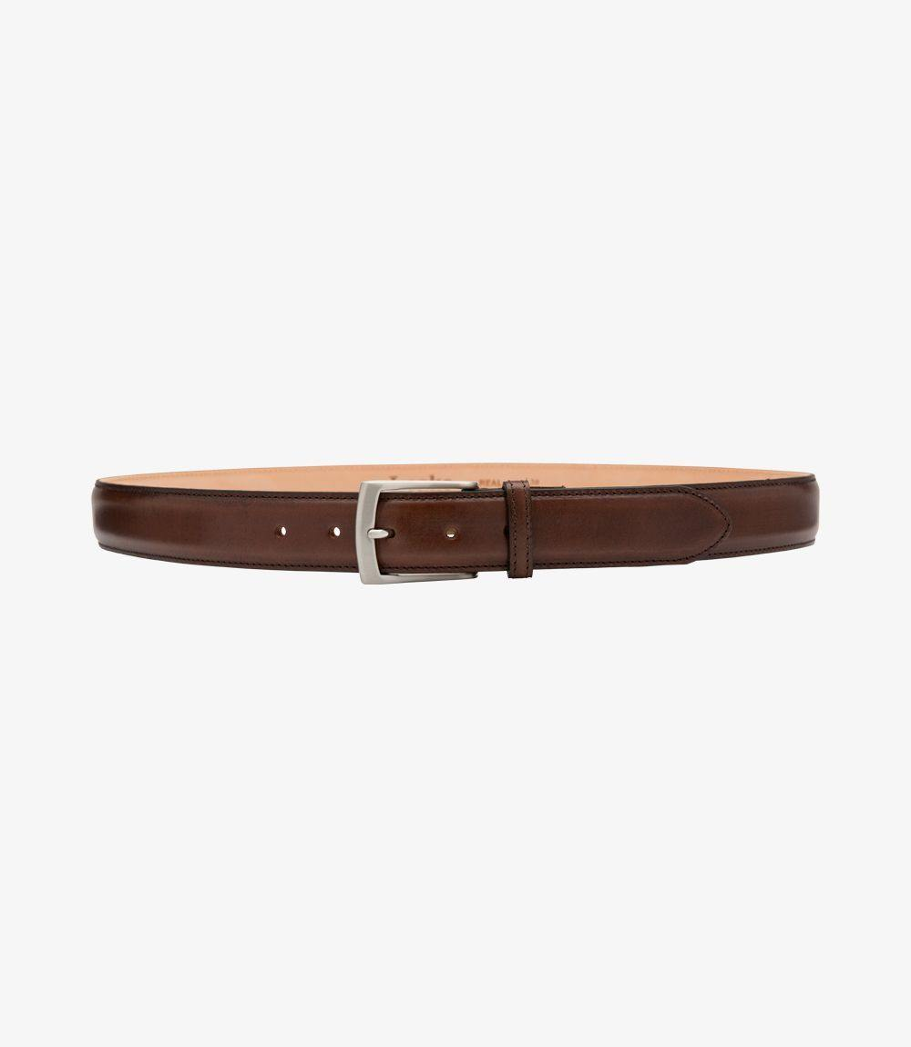 Henry Mens Belt Dark Brown - peters-notts