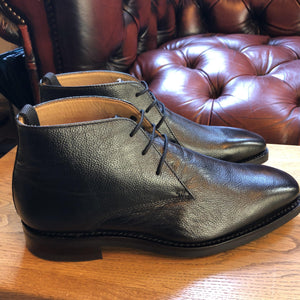 Mens Chukka Boot Black by Peter - peters-notts