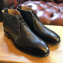 Load image into Gallery viewer, Mens Chukka Boot Black by Peter - peters-notts