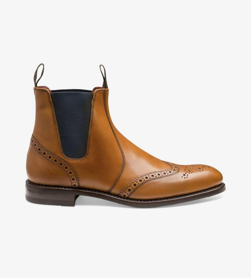Hoskins Tan Mens Dealer Boot Loake - peters-notts
