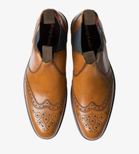 Load image into Gallery viewer, Hoskins Tan Mens Dealer Boot Loake - peters-notts