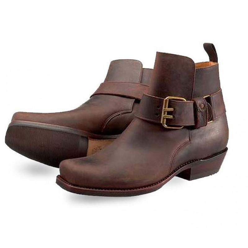 Legend Crazy Old Saddale Ankle Boots - peters-notts