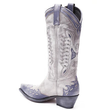 Load image into Gallery viewer, Navy Arguilla Western Boots