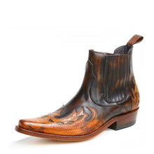 Load image into Gallery viewer, W.Toronto Old Manchado Western Ankle Boot - peters-notts