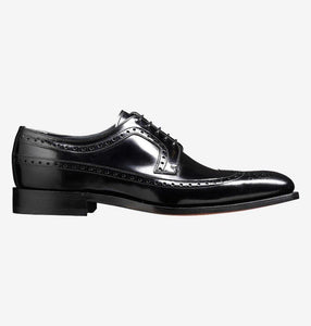 Woodbridge - Mens Classic Brogue Derby Shoe Black