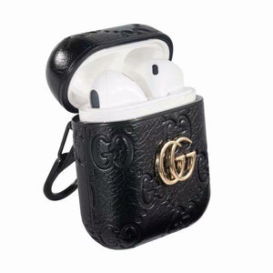 GUCCI(グッチ) AirPods ケース イヤホンケース カラビナ リング 付き 4色