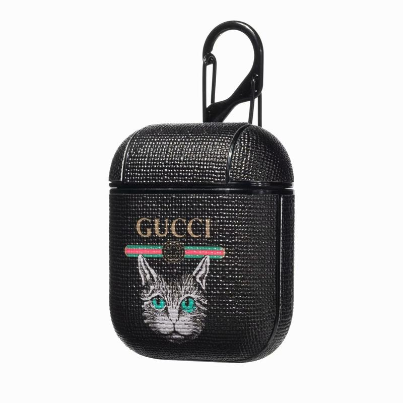 GUCCI(グッチ) AirPods ケース イヤホンケース カラビナ リング 付き
