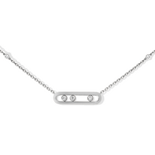 Necklace Diamond White Gold Baby Move