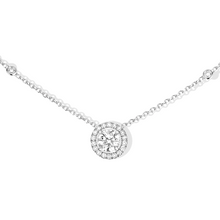Necklace Diamond White Gold Joy Diamant Rond 0,45ct