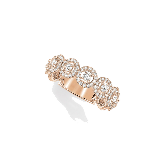 Ring Diamond Pink Gold Alliance Joy