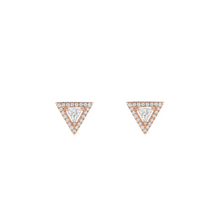 Earrings Pink Gold Théa Studs