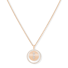 Necklace Diamond Pink Gold Lucky Move MM