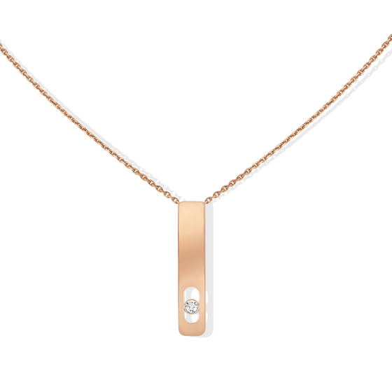 Necklace Diamond Pink Gold My First Diamond