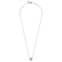 Necklace White Gold Clover White Diamonds