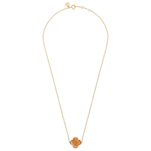 Necklace Yellow Gold And Sunstone