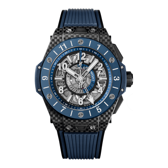 Unico GMT Carbon Blue Ceramic