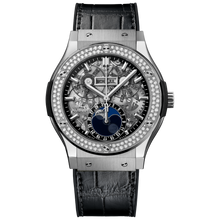 Aerofusion Moonphase Titanium Diamonds